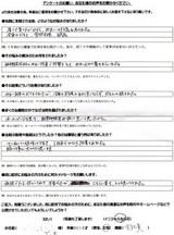 京都市にお住まいのY.K様(42才、女性、会社員)直筆メッセージ