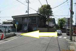京都市中心部または向日市北部からのアクセス③