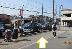 JR向日町駅からのアクセス②