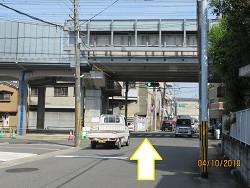 JR向日町駅からのアクセス⑤