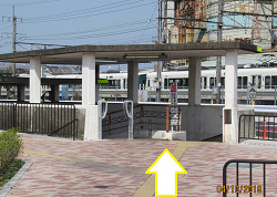 JR向日町駅からのアクセス④