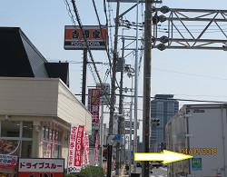 京都市中心部または向日市北部からのアクセス①