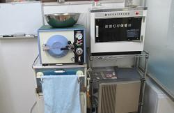 高圧滅菌器 オートクレーブ写真
